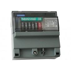 Счетчик электроэнергии однофазный Меркурий 201.5 60/5 Т1 D 220В ОУ