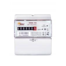 Счетчик электроэнергии однофазный Нева103 1SO 60/5 Т1 D 220В ОУ