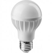 Лампа светодиодная LED 10вт Е27 белый ОНЛАЙТ