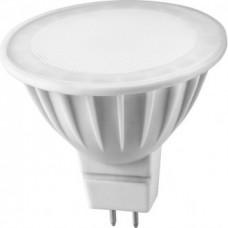 Лампа светодиодная LED 5вт 230в GU5.3 тепло-белый ОНЛАЙТ