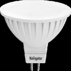 Лампа светодиодная LED 5вт 230в GU5.3 тепло-белая Navigator