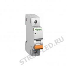 Выключатель автоматический однополюсный 10А С ВА63 4.5кА