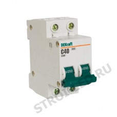 Выключатель автоматический двухполюсный 16А С ВА-101 4.5кА