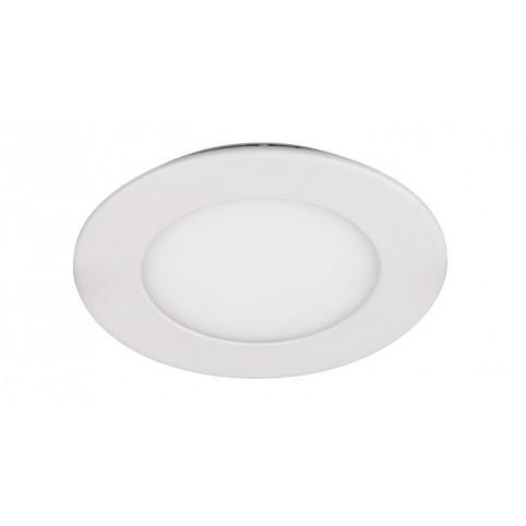 Светильник встраиваемый .круг PPL - RPW белый 9w 6500K d145*25mm IP20 Jazzway