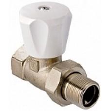 VT.008.LN.05 Вентиль ValTec (компактный) для радиатора прямой 3/4
