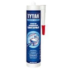Герметик силиконовый Tytan Euro-Line (санитарный) белый 290 ml