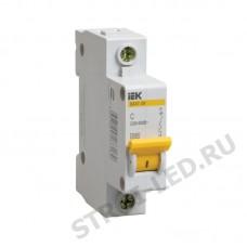 Выключатель автоматический однополюсный 16А C ВА47-29 4.5кА