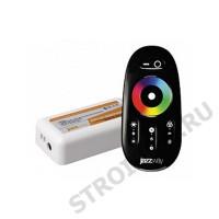 Контроллер RGB PRC-4000RF BL ( черный)12/24V 216/432Вт