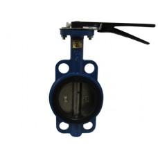 Затвор дисковый ЗДП Ду-100 Ру16 чугунный