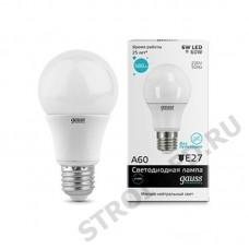 Лампа Gauss LED Elementary A60 6W E27 4100K