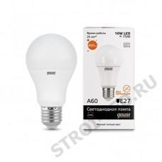 Лампа Gauss LED Elementary A60 10W E27 2700K