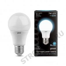 Лампа Gauss LED  A60 7W E27 4100K