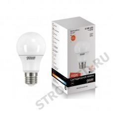 Лампа Gauss LED  A60 7W E27 2700K