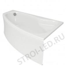 SICILIA 140х100  асимметричная ванна правая с ножками
