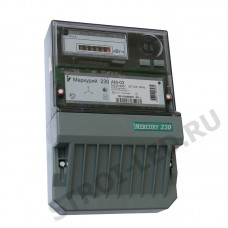 Счетчик электроэнергии трехфазный однотарифный Меркурий 230 АМ-03 Тр/5 А Т1 кл0,5 230/400В ОУ