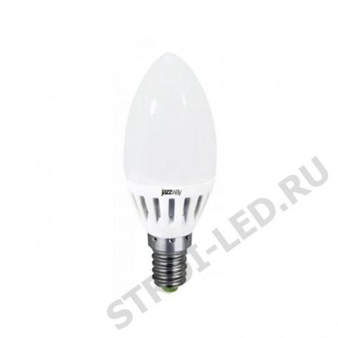 Лампа светодиодная PLED-ECO-C37 5w E14 3000K 400Lm 230V/50Hz