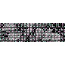 Бордюр BLACK&WHITE черный 6x20