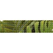 Бордюр TROPICANA зеленый 6x25