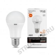 Лампа Gauss LED Elementary A60 15W E27 2700K
