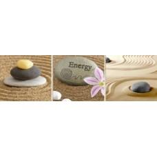 Бордюр Гармония 300*90*7 (камни с розовым цветком)