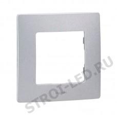 ETIKA Рамка 1 пост алюминий