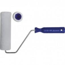 Валик велюровый 100 мм, д-40мм, в-4мм, бюгель-6мм с руч, бел