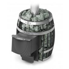 Печь банная сетка Саяны Carbon, с дверцей антрацит