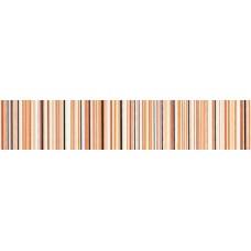Бордюр 4,5*19,8 Камила оранж. полоска