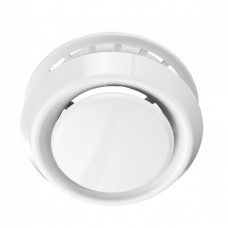 Анемостат А 125ВРФ, АБС (А 125VRF) белый