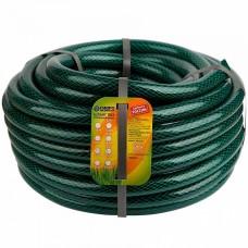 Шланг 3/4 ПВХ Гидро армир. непрозрачный черно-зеленый 25 м